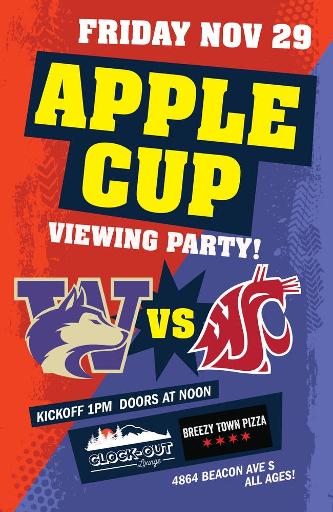 Apple Cup Viewing Party