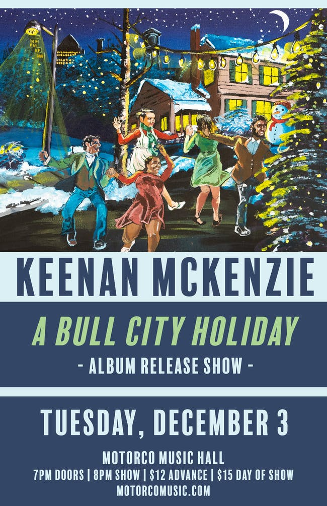 "Keenan McKenzie: ""A Bull City Holiday"" Album Release Show"