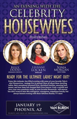 AN EVENING WITH THE CELEBRITY HOUSEWIVES