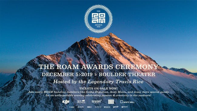SOLD OUT: 2019 ROAM AWARDS HOSTED BY TRAVIS RICE