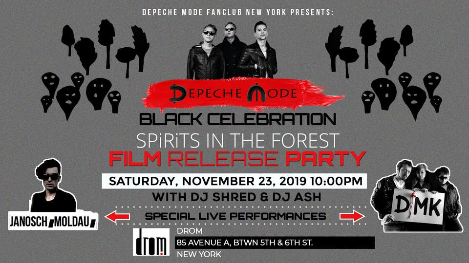 """Depeche Mode - """"SPiRiTS in the FOREST"""" Film Release Party"""