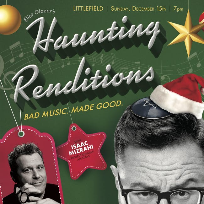 Haunting Renditions with Eliot Glazer