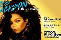 Miss Jackson If You're Nasty: A Janet Jackson Party