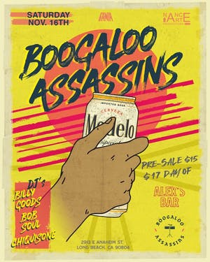 Boogaloo Assassins + DJ Boogaloo Sound System