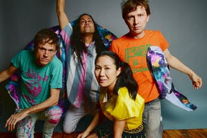 Deerhoof, Sloppy Jane & Gold Dime