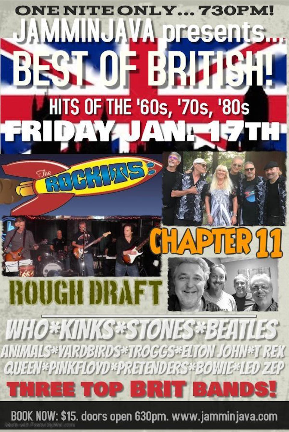 Best of British feat. The Rockits + Chapter 11 + Rough Draft
