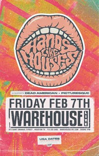 HANDS LIKE HOUSES / DEAD AMERICAN / ANCHOR, THE MAMMOTH