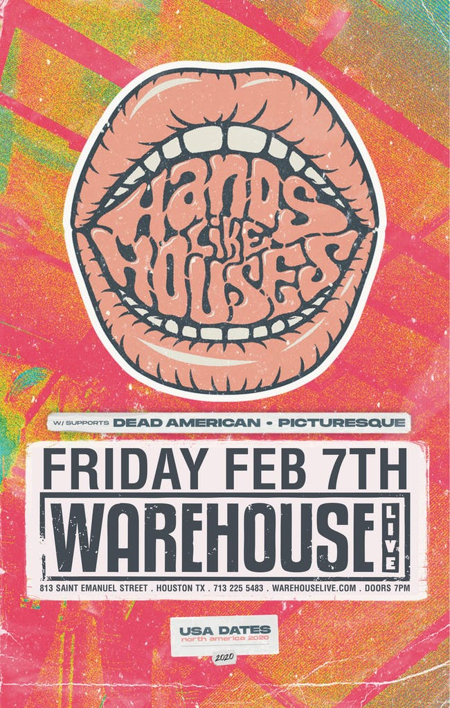 HANDS LIKE HOUSES / DEAD AMERICAN / PICTURESQUE / ANCHOR, THE MAMMOTH