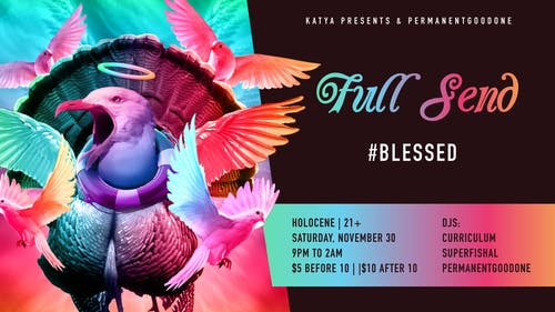Full Send: #Blessed