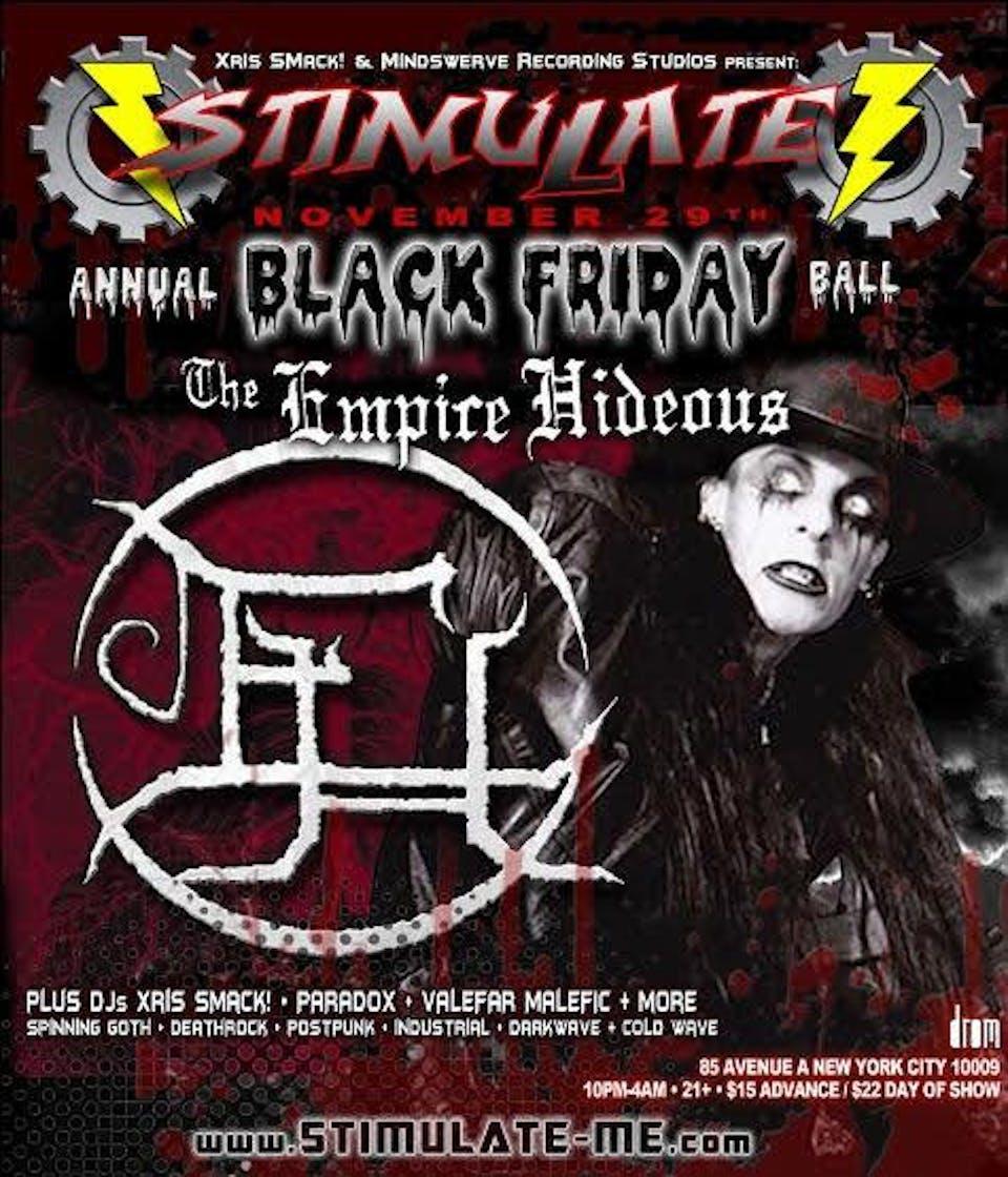 Stimulate Black Friday Show
