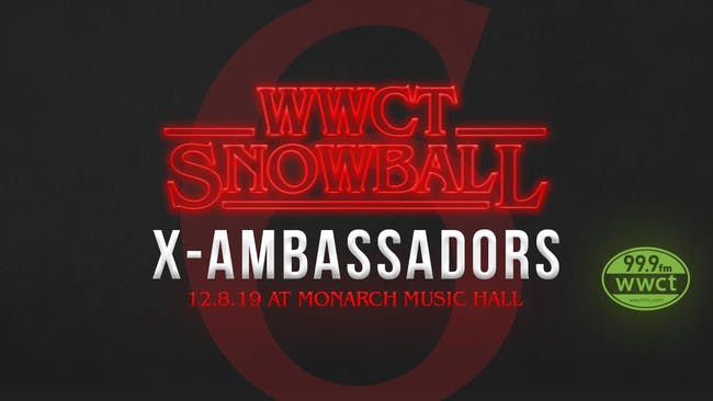 WWCT Snow Ball with X Ambassadors