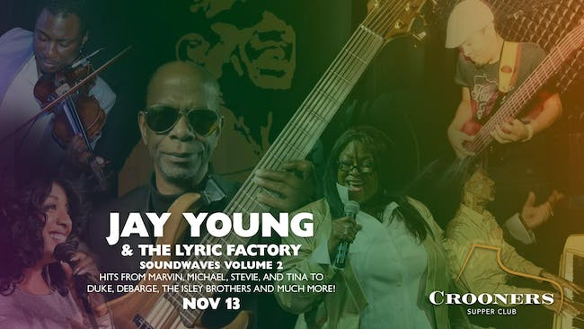 Jay Young and the Lyric Factory - SOUNDWAVES Vol. 2