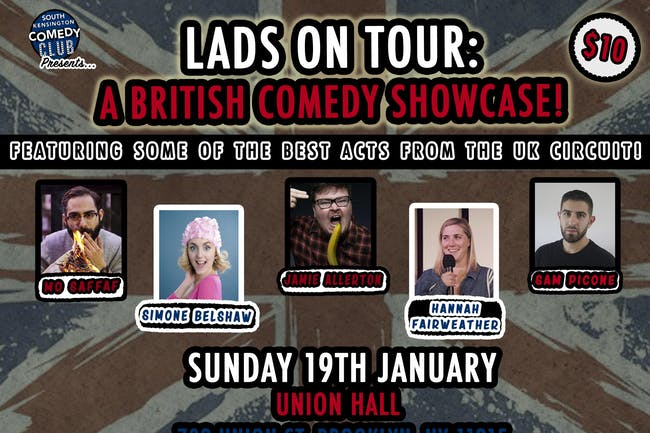 Lads on Tour: A British Comedy Showcase