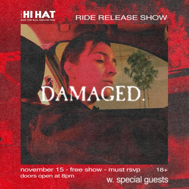 DAMAGED. Release Show
