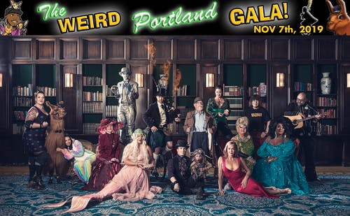 The Weird Portland Gala and Hall of Fame Launch Party at Polaris Hall