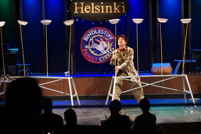 Bindlestiff Family Cirkus (family oriented show)