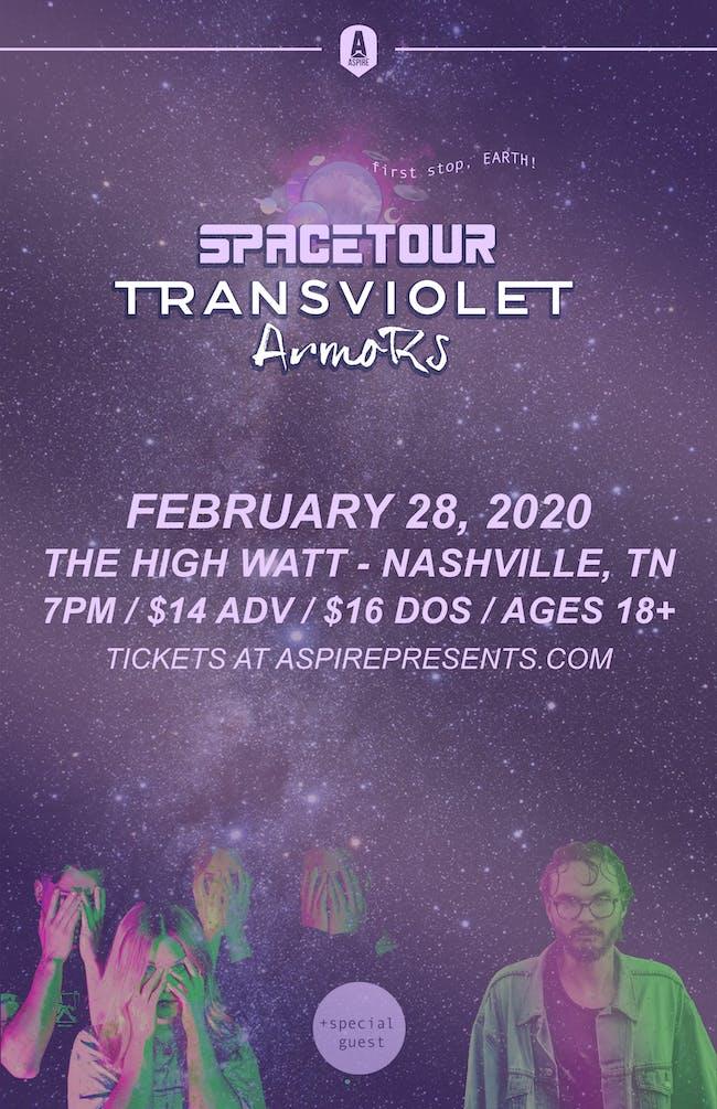 Transviolet + Armors w/ Valley Girl & Alex Di Leo