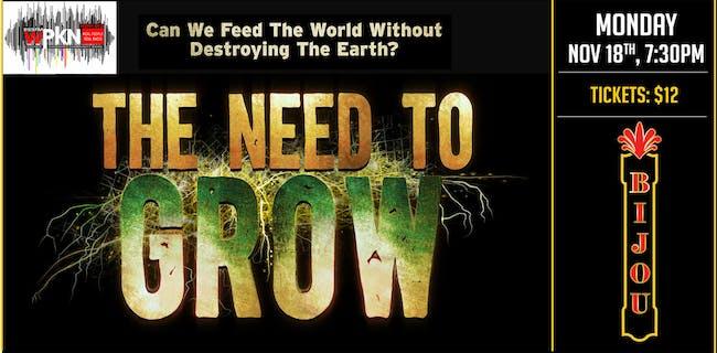 Documentary Film - The Need to Grow