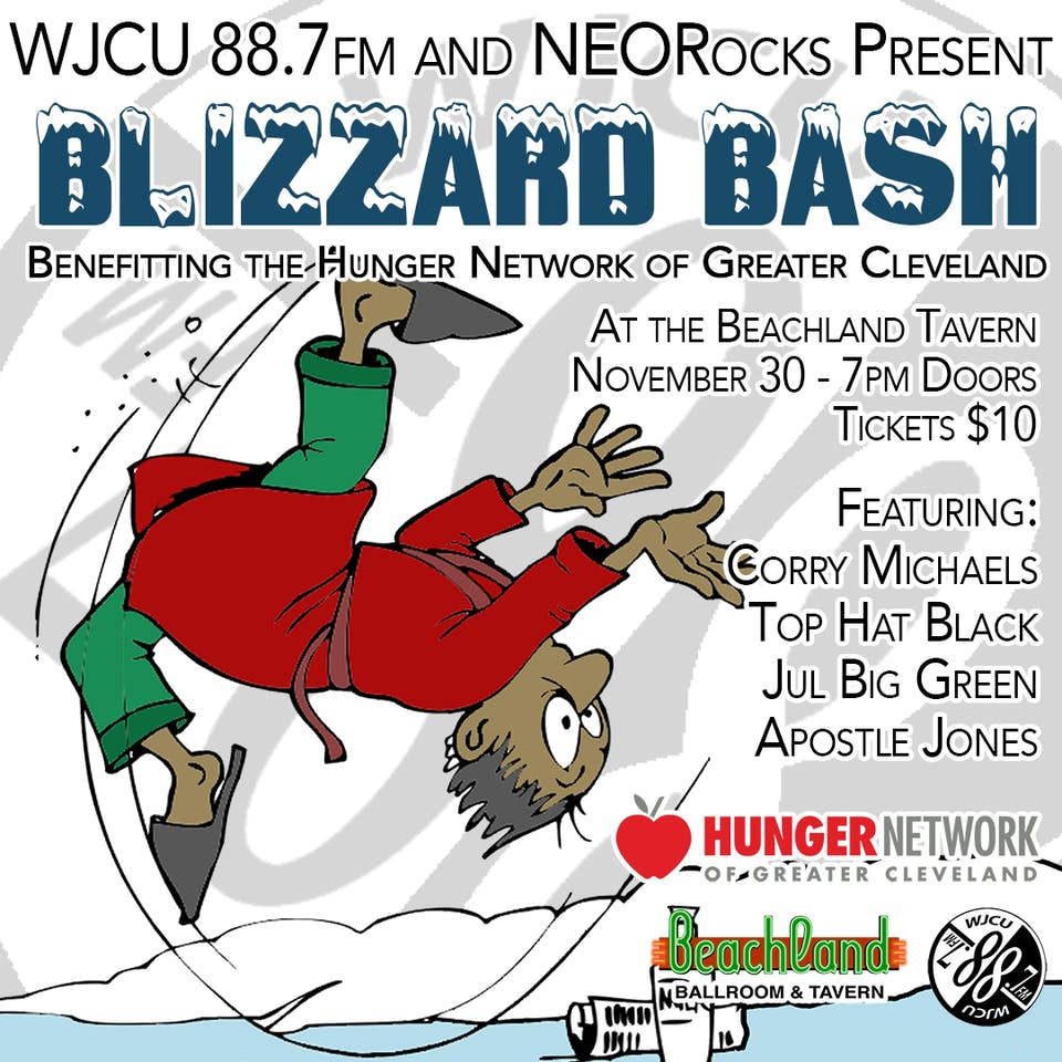 WJCU 88.7FM & NEORocks presents Blizzard Bash