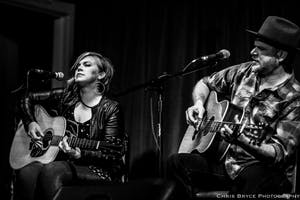 Jason Eady and Courtney Patton with Channing Wilson