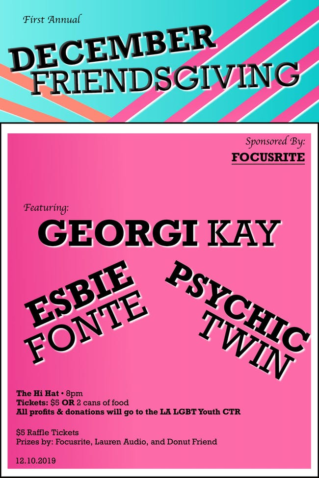 December Friendsgiving ft. Georgi Kay, Esbie Fonte, Psychic Twin