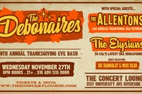 "The Debonaires Annual ""Thanksgiving Eve Celebration"""