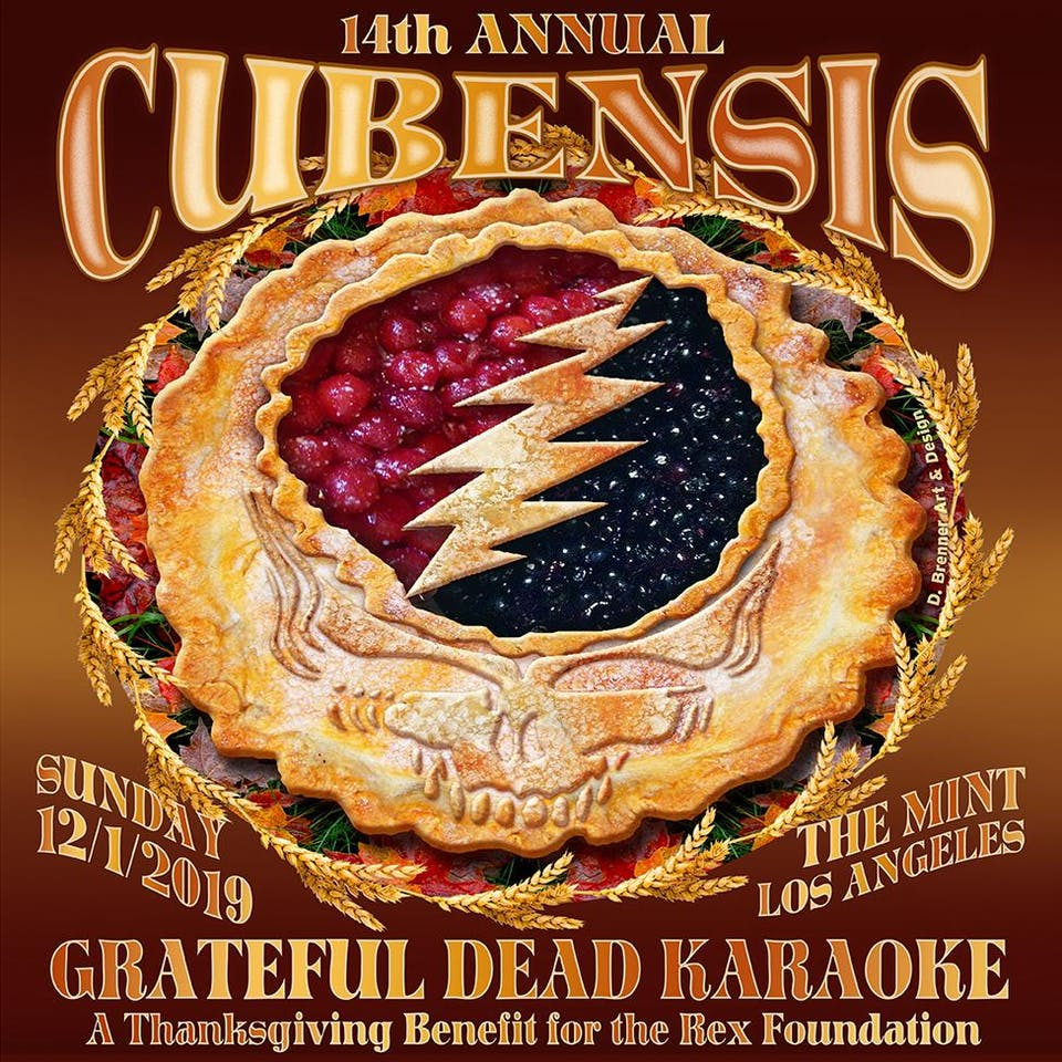 Grateful Dead karaoke with Cubensis: A  benefit for the Rex Foundation
