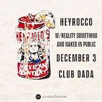 HEYROCCO • Reality Something • N In Public