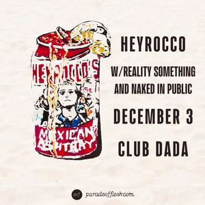 HEYROCCO • Reality Something • N In Public