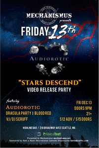 Mechanismus Presents Audiorotic / Dracula Party / Blood Red
