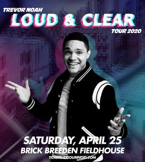 Trevor Noah Loud and Clear Tour