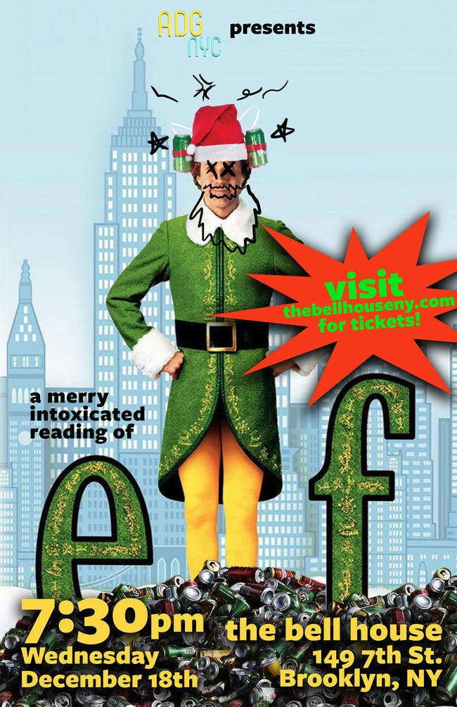 A Drinking Game NYC presents Elf