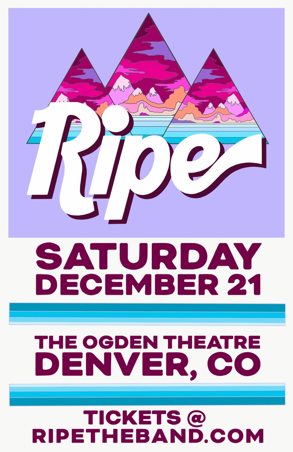 BINGO! Win tickets to RIPE at Ogden and other great shows!