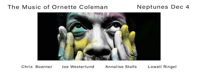 Chris Boerner Residency: The Music of Ornette Coleman