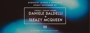 Daniele Baldelli & Sleazy Mcqueen at Monarch