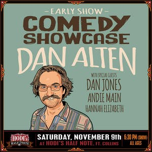 Comedy Showcase feat. Dan Alten w/ Dan Jones, Andi