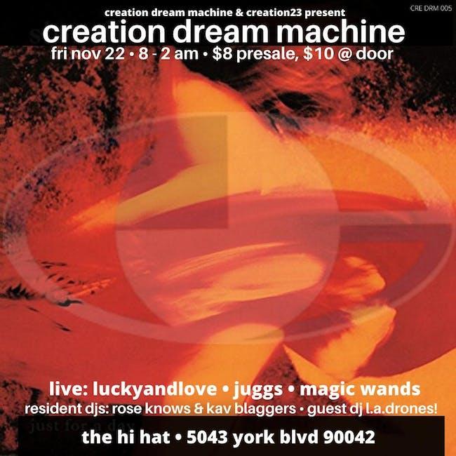 CRE DRM 005 ft. Magic Wands, LUCKYANDLOVE, JUGGS