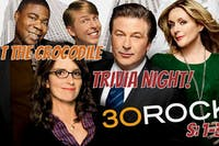 30 Rock Trivia. S:1-3 @ The Back Bar
