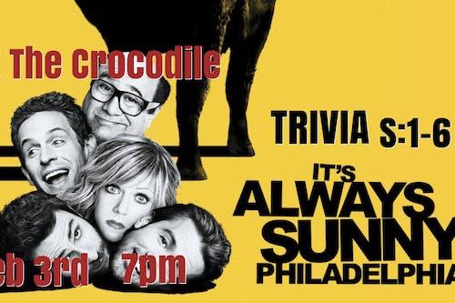 It's Always Sunny In Philidelphia S:1-6 Trivia Night! @ The Back Bar