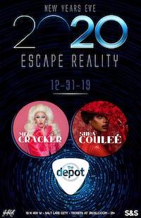 Escape Reality feat. Miz Cracker & Shea Couleé