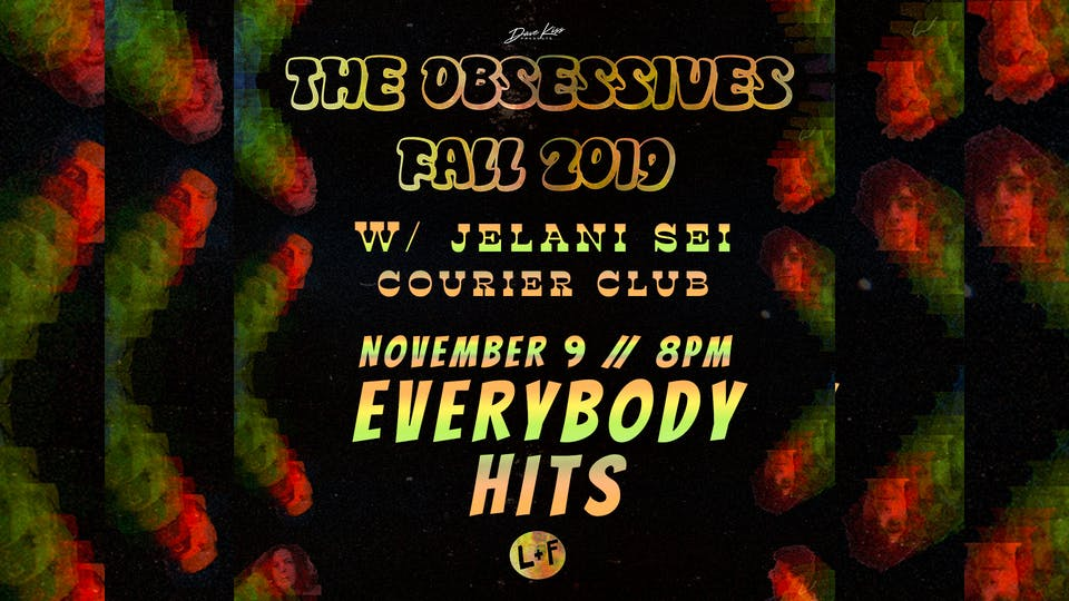 The Obsessives ~ Jelani Sei ~ Courier Club
