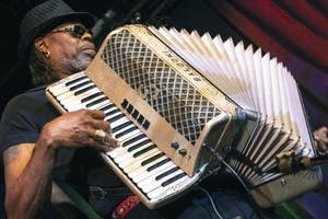 C.J. Chenier live at The Attic