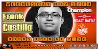 Frank Castillo, Champion of Comedy Central's new hit show Roast Battle!