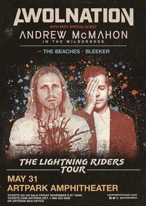 AWOLNATION: The Lightning Raiders Tour with Andrew McMahon