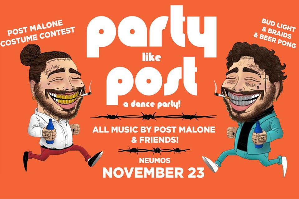Party Like Post - A Post Malone Dance Party!