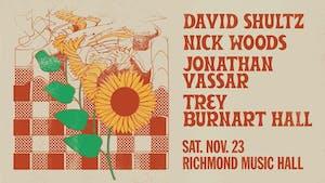 David Shultz, Nick Woods, Jonathan Vassar, and Trey Burnart Hall