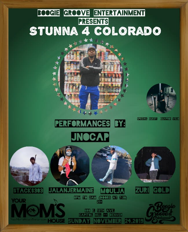 Stunna 4 Colorado ft. JNoCap // Stacks303 // Zuri Gold // Moulja //More