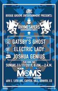 Rhymesayers Night ft. Gatsby's Ghost // Electric Lady // JoshuaGenius