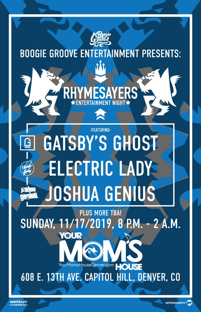 Rhymesayers Night ft. Gatsby's Ghost // Electric Lady // JoshuaGenius