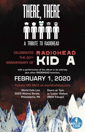 There, There Radiohead Tribute: 20th Anniversary of Kid A